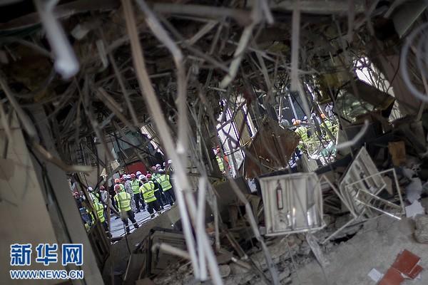 墨西哥官方称瓦斯泄漏导致国家石油公司爆炸