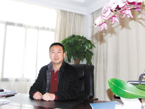 安宁工业园区管委会主任田建宏。