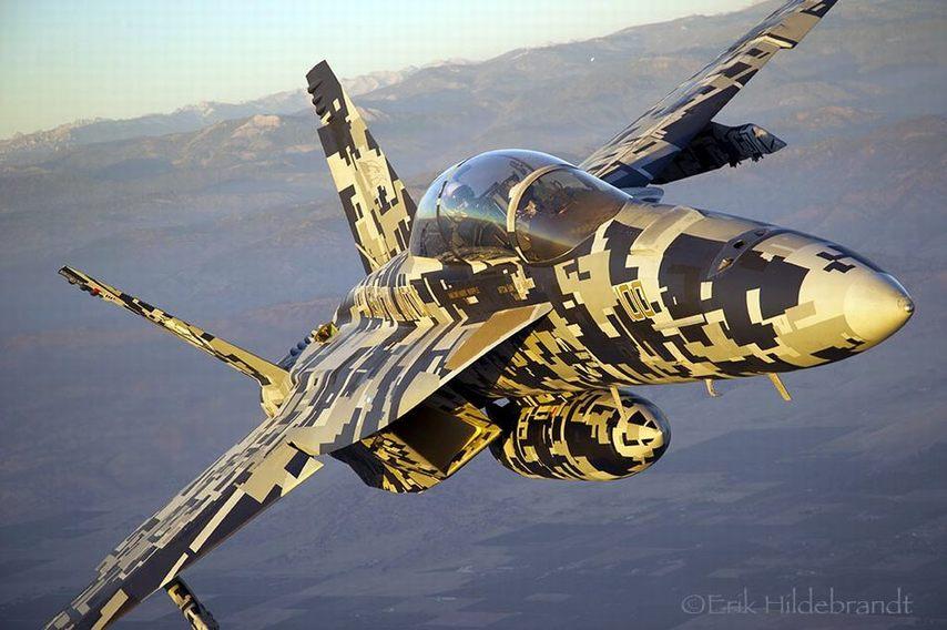 国姺f??f?_美国f/a-18战斗机的数码迷彩涂装