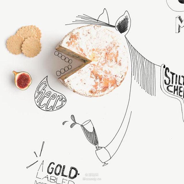 组图:设计师手绘美食漫画 拍照简直弱爆了