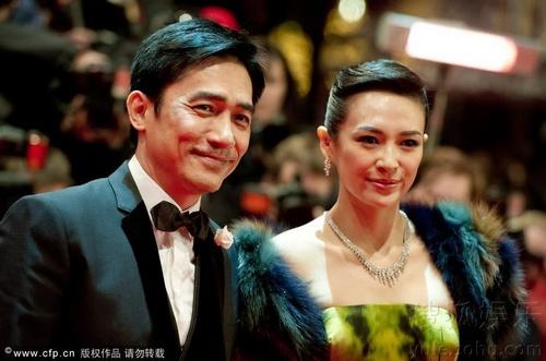 柏林电影节开幕 《一代宗师》梁朝伟章子怡携手走红毯