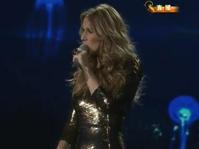 《2013央视蛇年春晚》片花 席琳迪翁演唱《我心永恒》