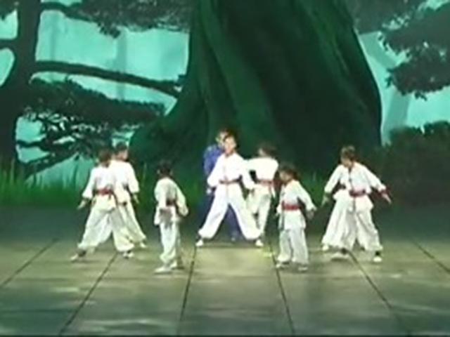 《2013央视蛇年春晚》片花 赵文卓表演武术《少年中国》