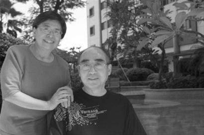 庄则栋与妻子佐佐木敦子,书写了一段跨国婚姻的传奇
