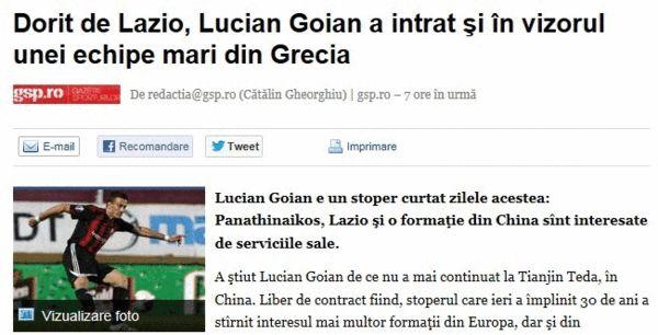 罗马尼亚媒体报道截屏图