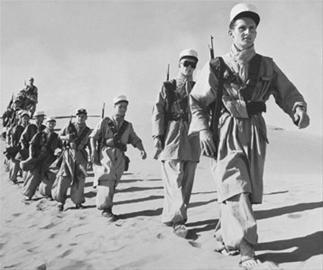 上世纪50年代在西非的法国外籍军团