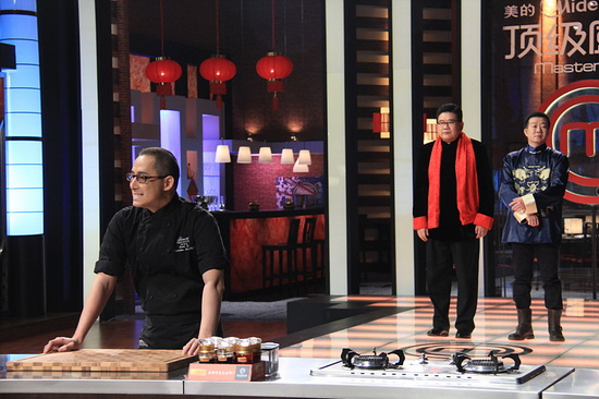 """《顶级厨师》杜绝浪费 """"地狱厨神""""刘一帆变废为宝(组图)"""