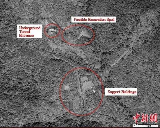 外媒称朝鲜已通报中国年内将再次核试验