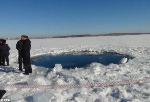 当地官员已经封锁了该地,正在进行相关调查与测量工作。