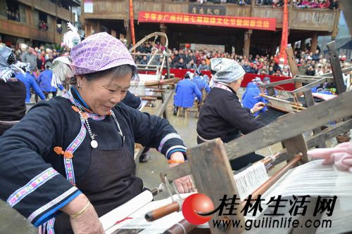 龙胜举行原生态侗寨鼓楼文化节 开展 闹春 活动
