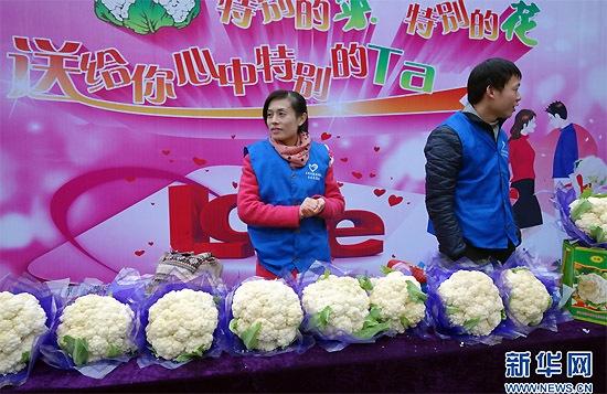 鲜花 情人节/情人节,你准备送花还是送花菜?