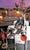 """南海舰队某基地""""潮阳""""艇组织夜间对抗演练"""