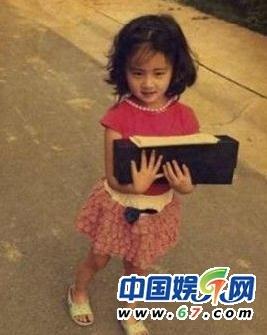 黄磊女儿黄多多超美 娱乐圈星二代拔头筹
