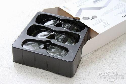 附送的3D视频眼镜