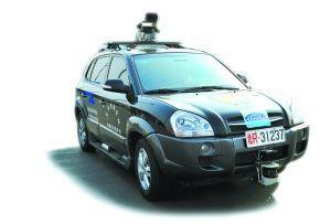 国产无人驾驶智能车