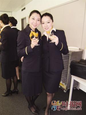 3月8日,去应聘外航空姐(图)