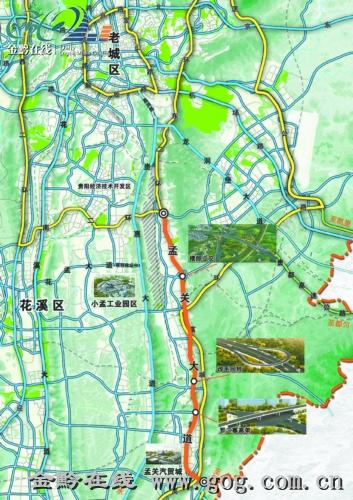 孟关大道设小客车专用道最高限速每小时80公里 图高清图片