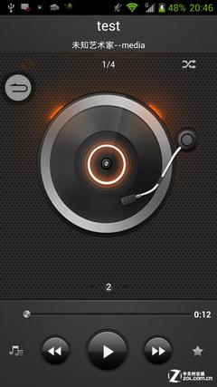 音乐播放界面/播放器功能设定图片