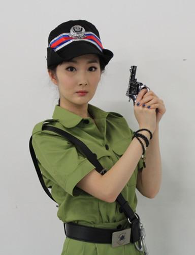 演员程媛媛首扮陀枪师姐