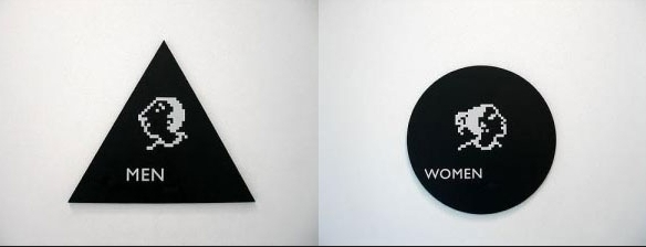最有趣的廁所標志(組圖)圖片