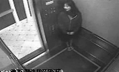 蓝可儿尸体被发现时全身赤裸 凶手可能仍藏在酒店图片