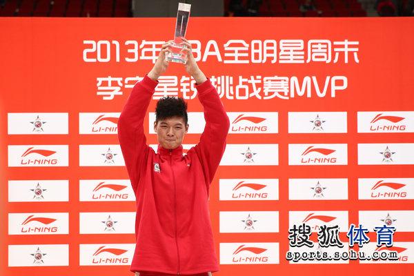王哲林获星锐赛MVP