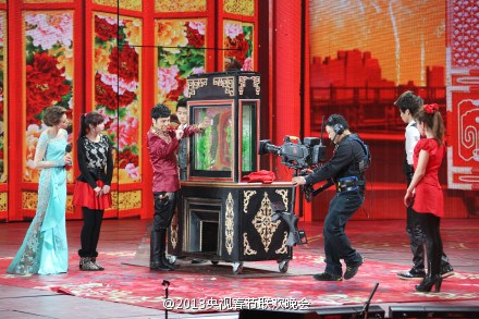 央视蛇年春晚官方微博