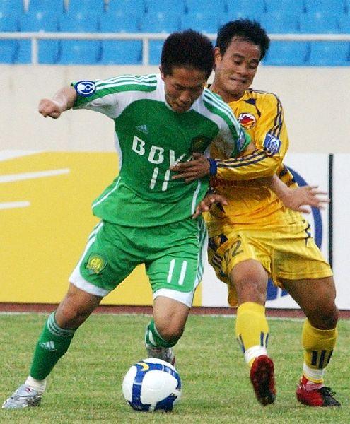 2008年亚冠国安首轮客场1-3越南南定