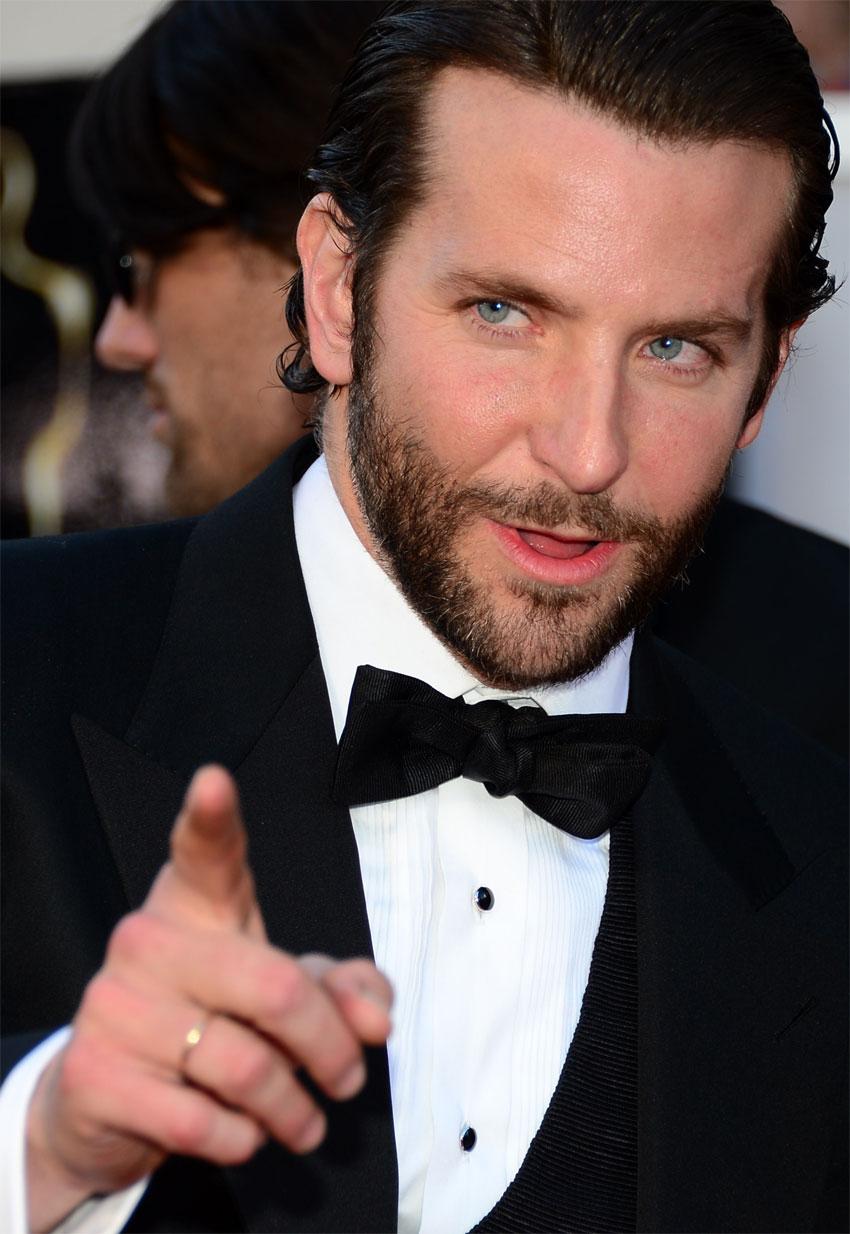 2013年2月24日,在美国好莱坞举行的第85届奥斯卡奖颁奖典礼开始前,获