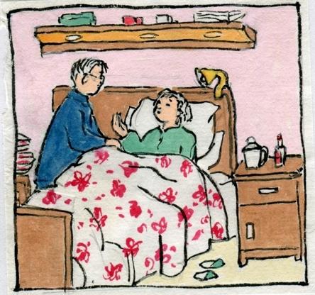 六十年愛情書 老人手繪《我倆的故事》平凡而動人(組圖)