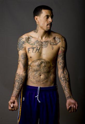现役十大纹身男 詹姆斯天选之子 科比爱的宣言