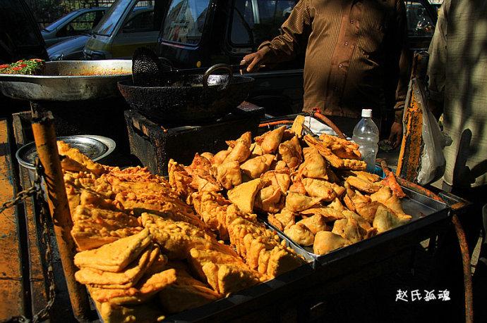 印度首都新德里_新德里的印度人逛街吃什么?美食小吃敢尝吗(组图)-搜狐滚动