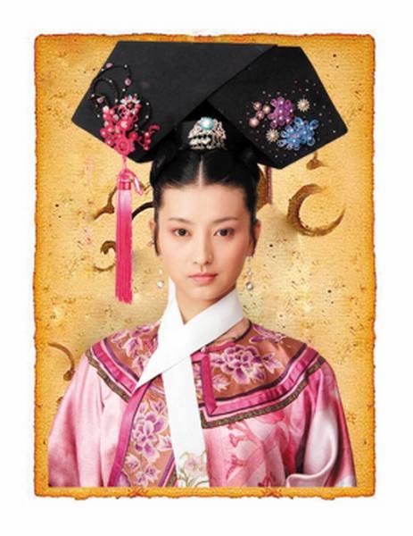 后宫嫔妃头饰手绘
