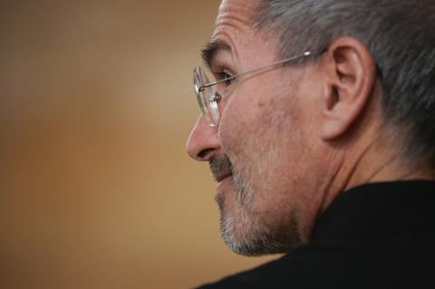 苹果公司CEO史蒂夫・乔布斯(资料图)