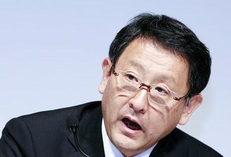 丰田汽车公司总裁丰田章男(资料图)