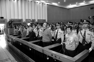 2012年11月6日,湄公河案在昆明市中级人民法院一审公开宣判。该案主犯糯康、桑康、依莱、扎西卡四人数罪并罚判处死刑。张浩林 摄