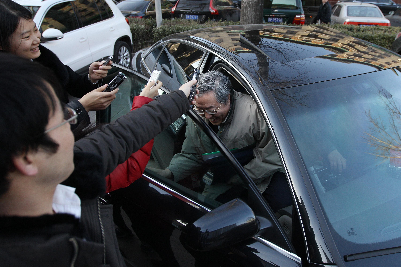 周小川/周小川接受记者采访。记者史丽摄