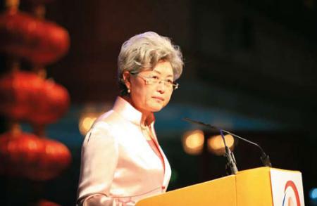媒体称外交部副部长傅莹或任人大新闻发言人