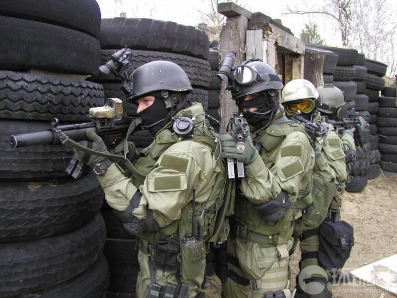 波兰特种部队演练 装备堪称一流(组图)