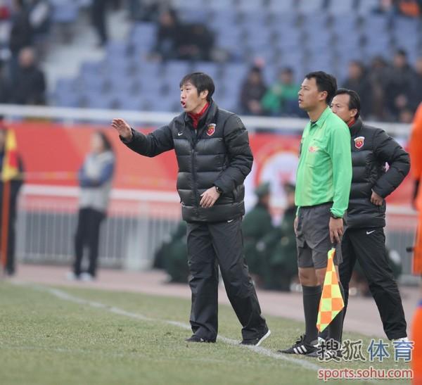 中超图:鲁能2-2东亚 高洪波东亚执教首秀