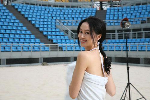被称为中国体坛第一美女