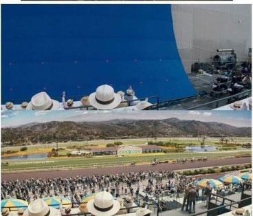 没有特效的电影图+揭秘好莱坞大片拍摄内幕(图