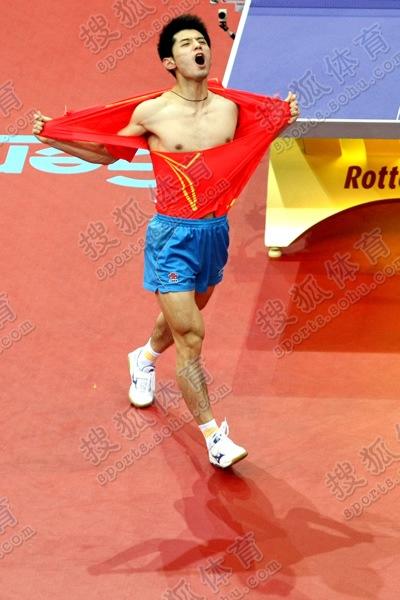 01张继科 2011年世乒赛夺冠