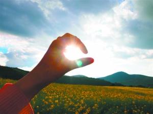 阳光明媚,风景如画,心情都要飞起来了.