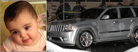 纽约偷车嫌犯发现车内有婴儿 报警后弃车离开