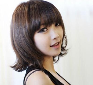 韩国可爱女生短发 超有甜美气息/组图