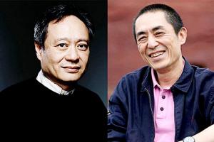 李安 张艺谋/中国电影人国际影响力数据发布