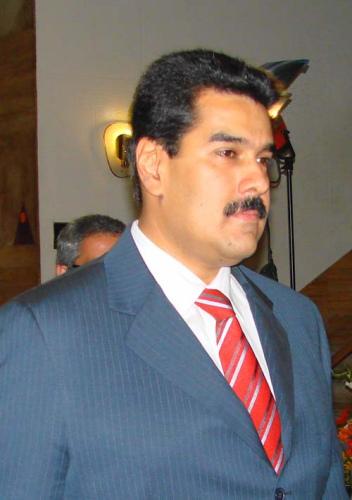 新闻人物:委内瑞拉副总统马杜罗(图)