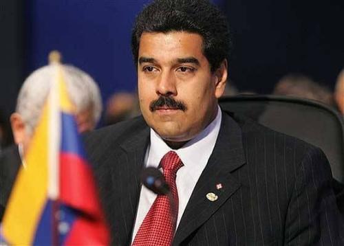 委内瑞拉副总统尼古拉斯·马杜罗