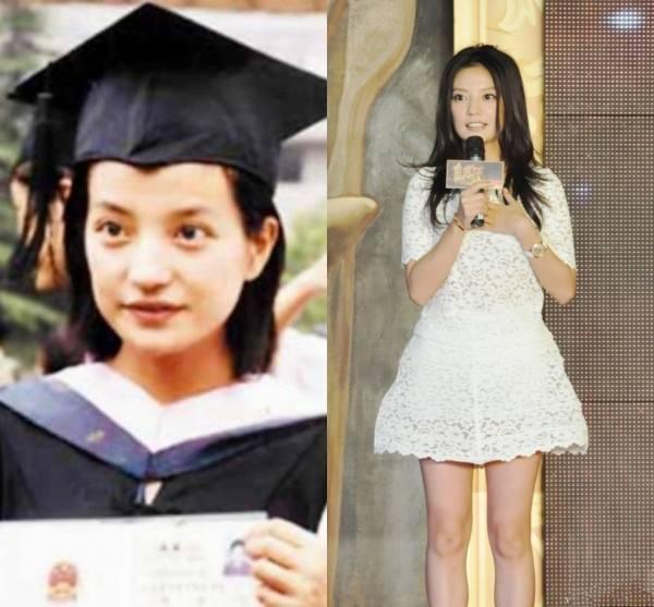 赵薇,因琼瑶剧《还珠格格》一举成名时,赵薇还是北京电影学院的学